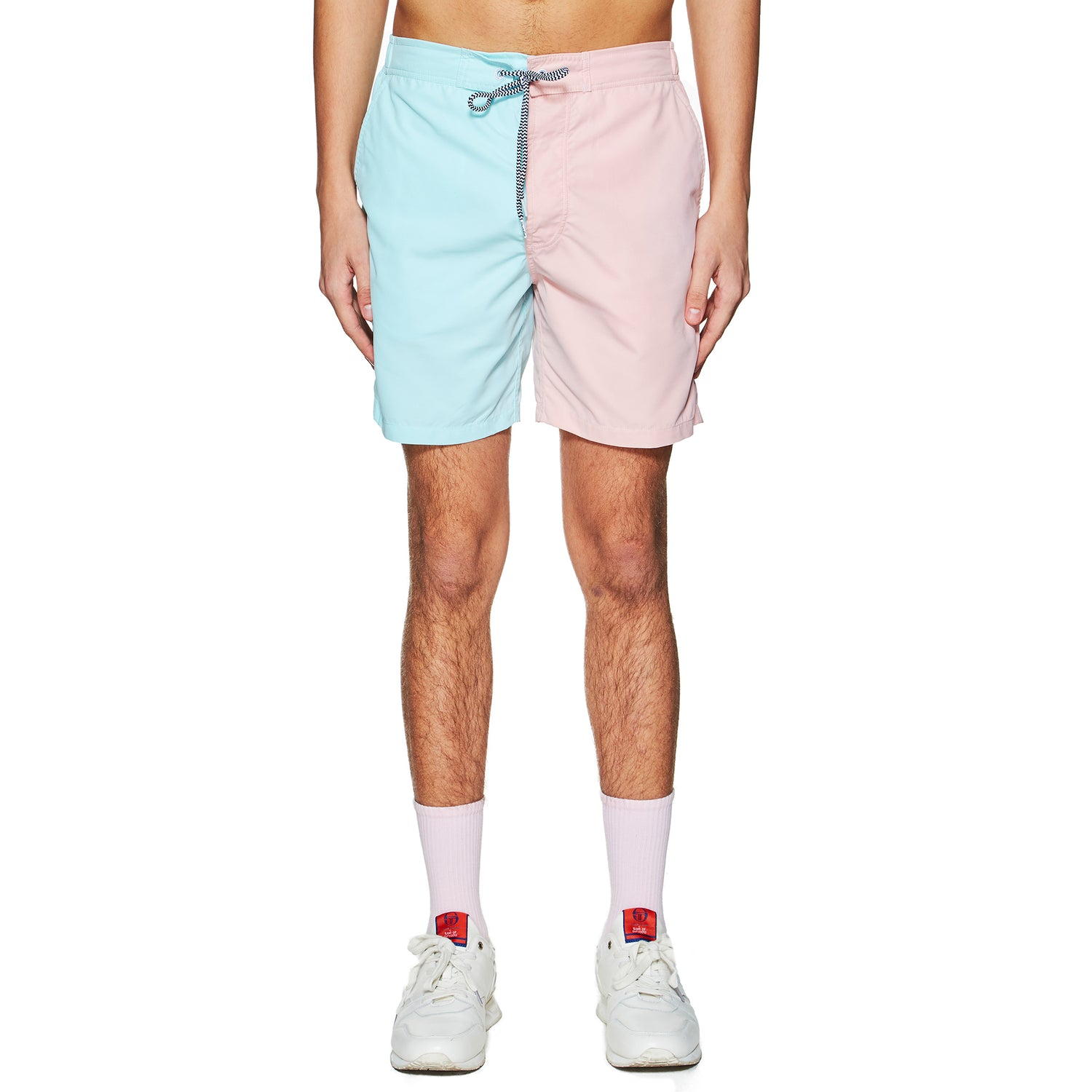 BOARDIES X BAND OF OUTSIDERS REACTIVE STRIPES SWIMSHORT