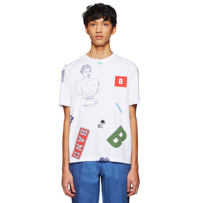 ALL OVER PRINT LOGOS T-SHIRT