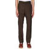 Slim Fit Tailoring Trousers Brown