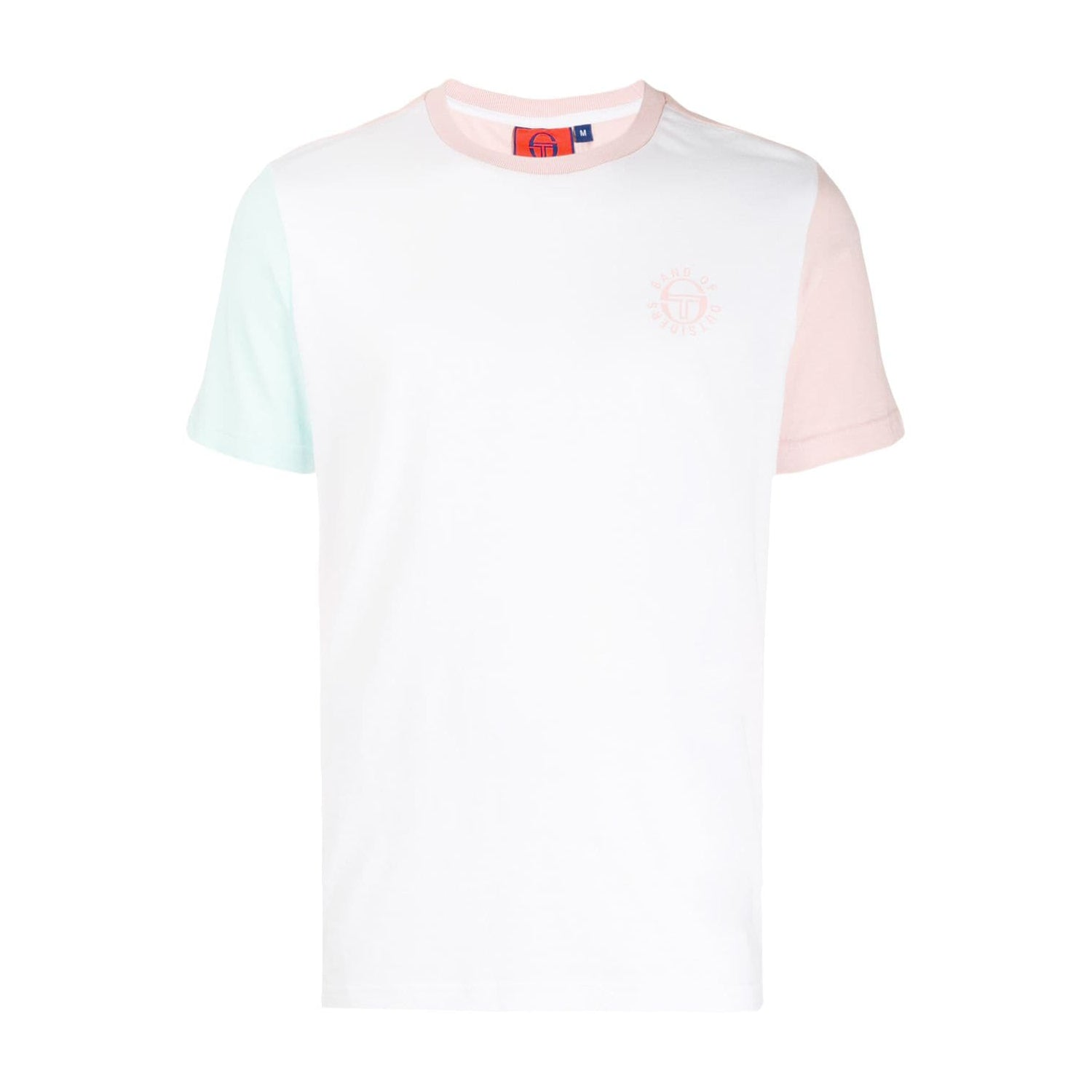 SERGIO TACCHINI X BAND OF OUTSIDERS COLOR BLOCK T-SHIRT WHITE