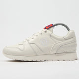 SERGIO TACCHINI X BAND OF OUTSIDERS LEATHER SNEAKERS WHITE
