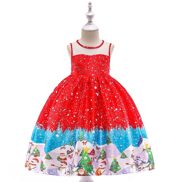 Toddler Christmas Dress.Beautiful Toddler Girl Christmas Dresses 3t 10y