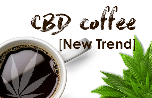 CBD Coffee, 400mg CBD per bag, 10 servings