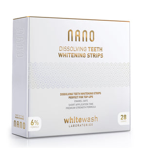 Nano Dissolving Teeth Whitening Strips
