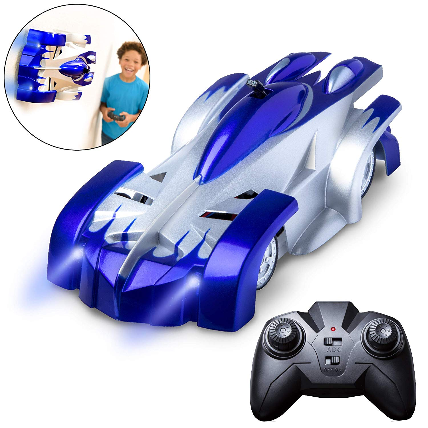 Fast Wall Climbing Car Toys for Kids