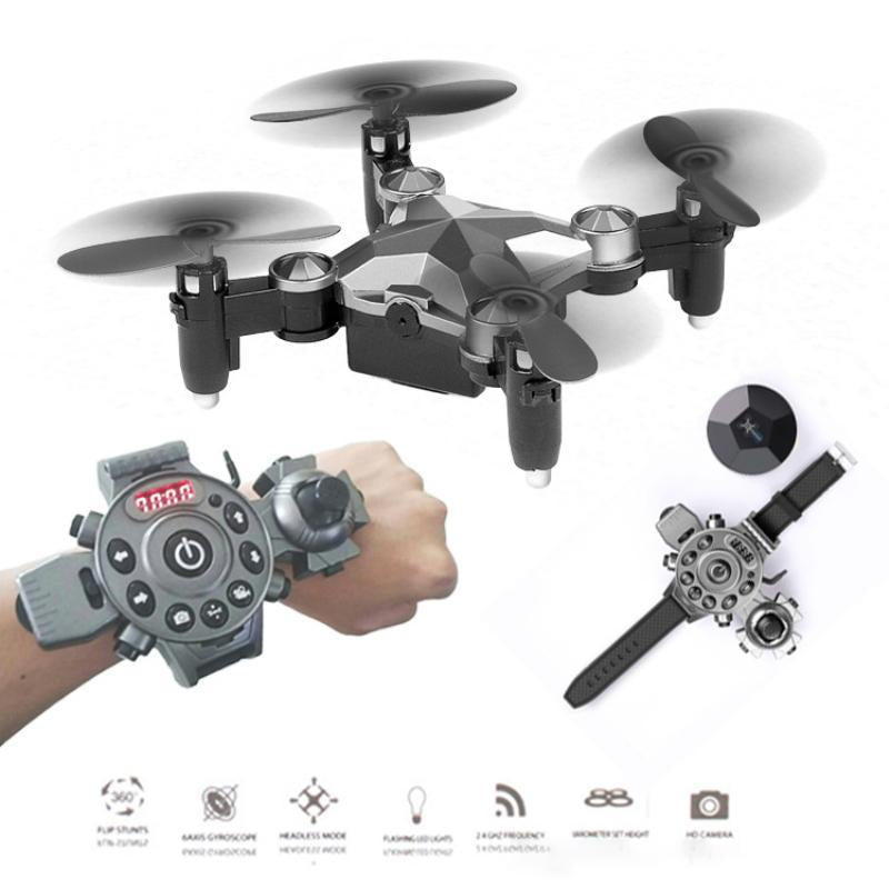 WEARABLE CONTROL RC MINI DRONE WITH WIFI CAMERA
