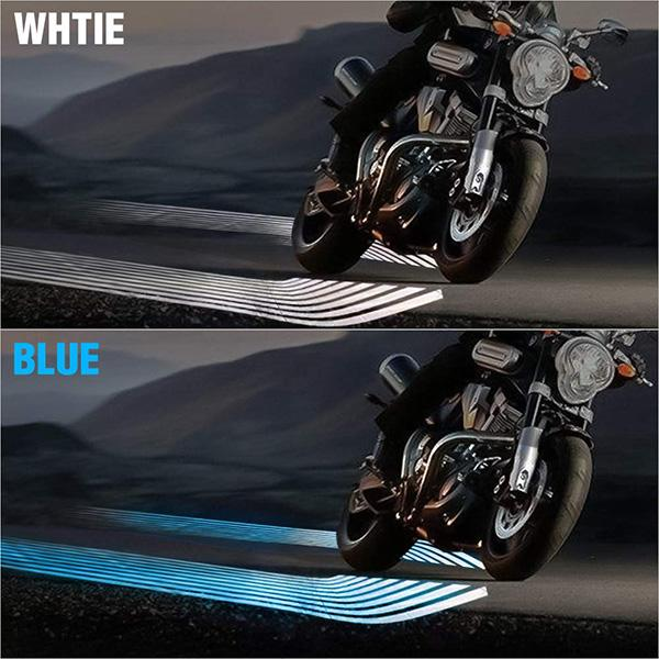 2Pcs Angel Wings Motorcycle Welcome Light