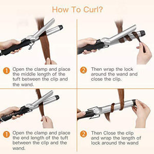 Hot Sale-Ceramic Tourmaline Coating Curling Wand