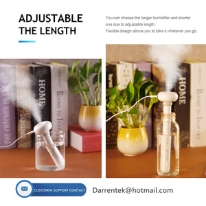 Mini USB Portable Creative Mineral Water Bottle Humidifier