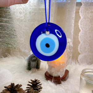 Evil Eye Glass Wall Hanging Ornament