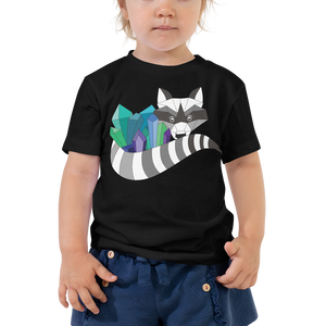 TheHumbleCrystal Raccoon Logo TODDLER Short Sleeve T-Shirt