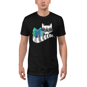 TheHumbleCrystal Raccoon Logo ADULT TALL T-Shirt