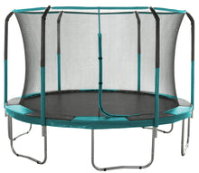 Load image into Gallery viewer, Skytric  by Upper Bounce  Enclosure Net, Fits 11' Round Trampoline, using 6 Curved Poles with Top Ring Frame - Green