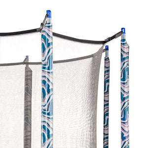 Upper Bounce  Trampoline Pole Sleeve Protectors - Set of 4 - Maui Marble