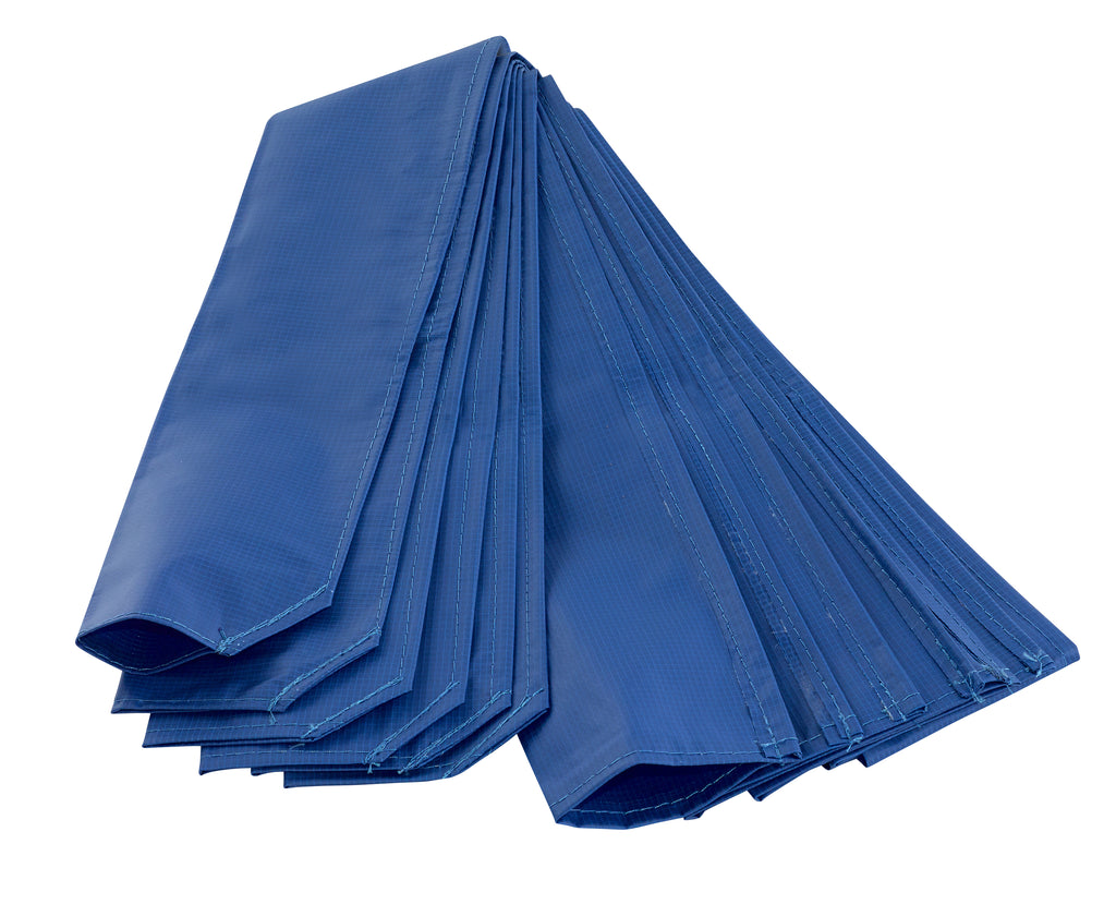 Upper Bounce  Trampoline Pole Sleeve Protectors - Set of 6 - Blue