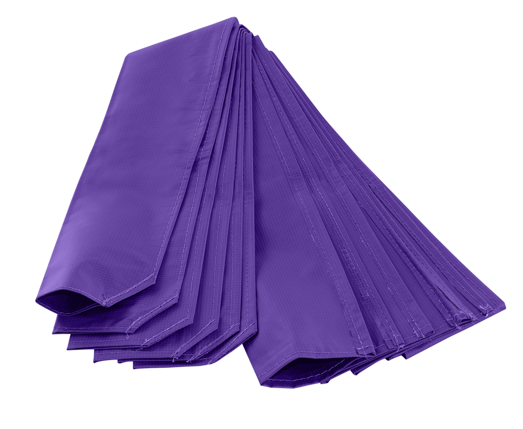 Upper Bounce  Trampoline Pole Sleeve Protectors - Set of 4 - Purple