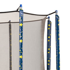 Upper Bounce  Trampoline Pole Sleeve Protectors - Set of 6 - Starry Night