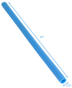 "Upper Bounce  44 Inch Trampoline Pole Foam sleeves, Fits 1.75"" Diameter Pole - Set of 12 -Blue"