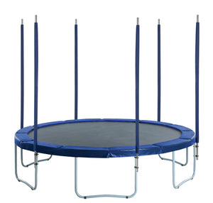 Upper Bounce  6 Straight Trampoline Safety Enclosure Poles with Hardware  (Net Sold Separately)