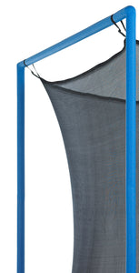 Upper Bounce  Trampoline Safety Enclosure Net, Fits 12 FT Round Frame, Using 6 Poles (or 3 Arches) - Adjustable Straps