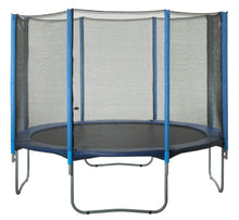 Load image into Gallery viewer, Upper Bounce  Trampoline Safety Enclosure Net, Fits 10 FT Round Frame, Using 8 Poles -  Installs Outside of Frame
