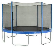 Load image into Gallery viewer, Upper Bounce  Trampoline Safety Enclosure Net, Fits 14 FT Round Frame, Using 6 Poles -  Installs Outside of Frame