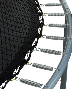 Universal Replacement Safety Enclosure Net by Upper Bounce  - Fits Any Round Trampoline Frame Up To 38 Linear Ft.