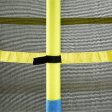 "Load image into Gallery viewer, Upper Bounce  Trampoline Jumping Mat With Attached Safety Net and Clips, Fits 55"" Round Trampoline Frame"