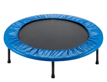 "Load image into Gallery viewer, Upper Bounce  Replacement Safety Pad, Fits 44"" Round Mini Rebounder Trampoline with 6 Legs- Blue"