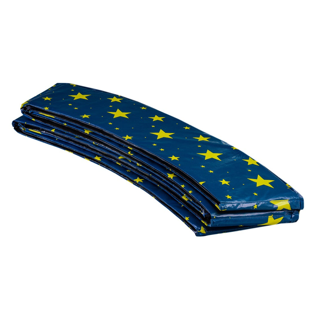 Upper Bounce  Super Spring Cover - Safety Pad, Fits 16 FT Round Trampoline Frame - Starry Night