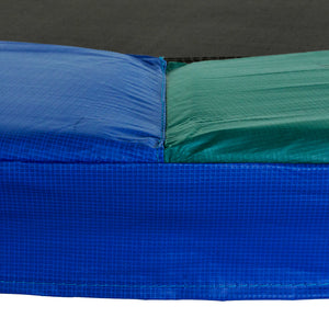 Upper Bounce  Super Spring Cover - Safety Pad, Fits 14 FT Round Trampoline Frame - Blue/Green