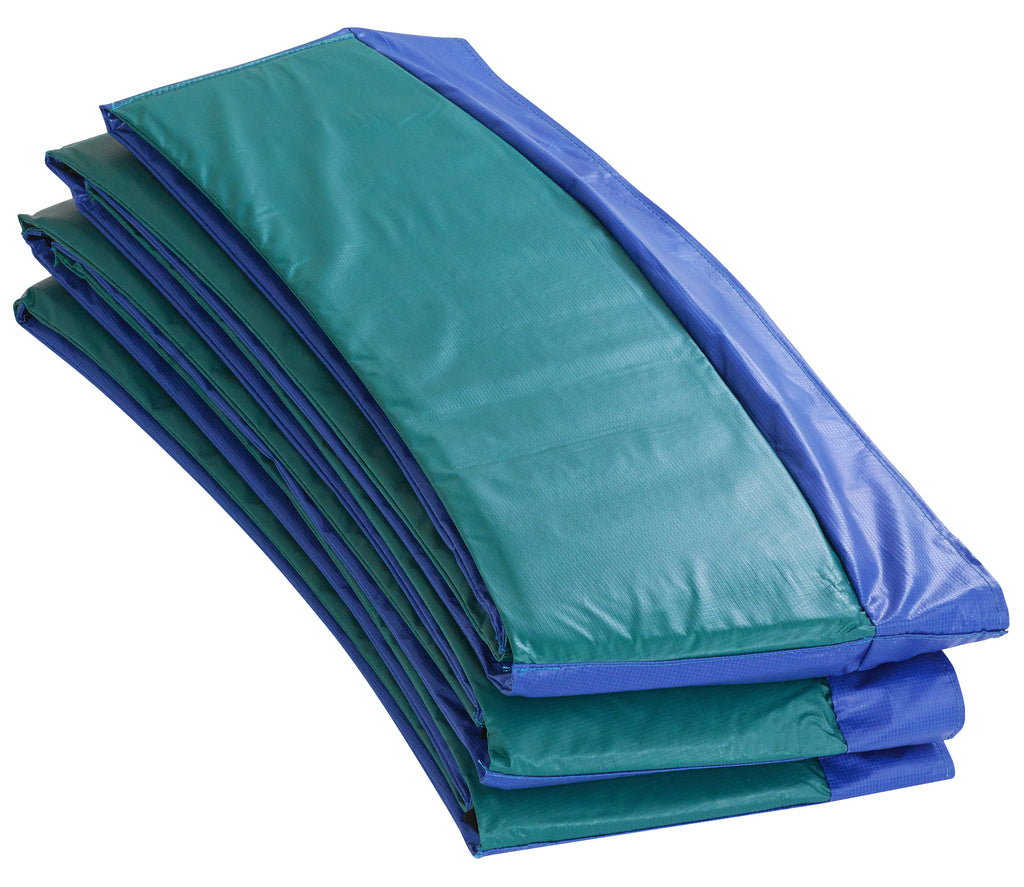 Upper Bounce  Super Spring Cover - Safety Pad, Fits 15 FT Round Trampoline Frame - Blue/Green