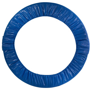 "Upper Bounce  Replacement Safety Pad, Fits 38"" Round Mini Rebounder Foldable Trampoline with 6 Legs- Blue"
