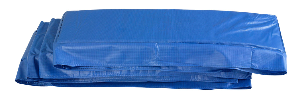 Upper Bounce  Super Spring Cover - Safety Pad, Fits 8 X 14 FT Rectangular Trampoline Frame - Blue