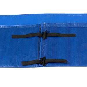 Upper Bounce  Super Spring Cover - Safety Pad, Fits 9 X 15 FT Rectangular Trampoline Frame - Blue