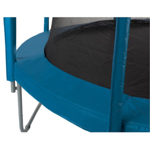 Upper Bounce  Trampoline Appearance Replacement Set, 12' Round Safety Pad with 12-pole Sleeve Protectors - Aquamarine