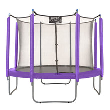 Load image into Gallery viewer, Upper Bounce  Trampoline Appearance Replacement Set, 10' Round Safety Pad with 8-pole Sleeve Protectors - Purple