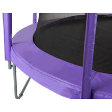 Load image into Gallery viewer, Upper Bounce  Trampoline Appearance Replacement Set, 7.5' Round Safety Pad with 6-pole Sleeve Protectors - Purple