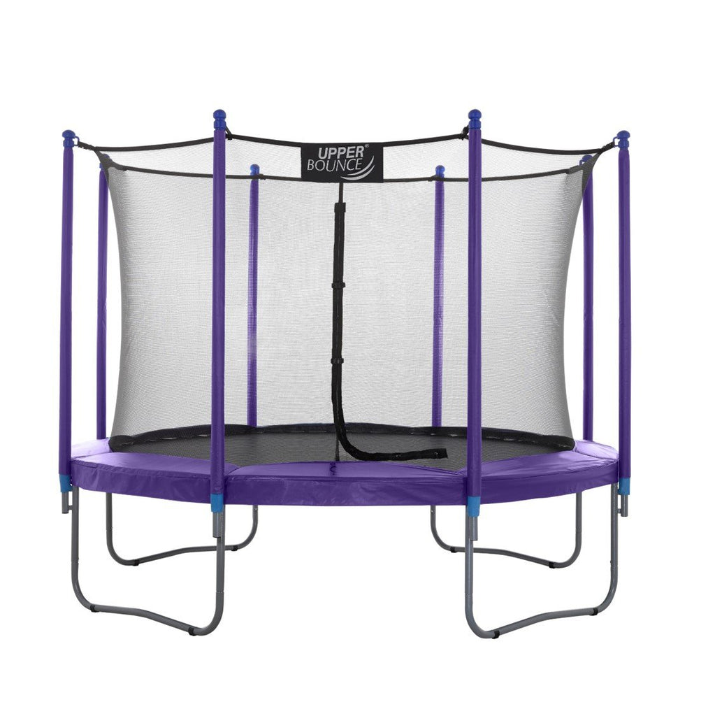Upper Bounce 7.5 FT Round Trampoline Set with Safety Enclosure System