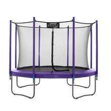 Load image into Gallery viewer, Upper Bounce  10 FT Round Trampoline Set with Safety Enclosure System - Purple