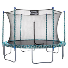 Load image into Gallery viewer, Upper Bounce  12 FT Round Trampoline Set with Safety Enclosure System - Maui Marble