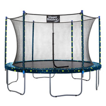 Load image into Gallery viewer, Upper Bounce  14 FT Round Trampoline Set with Safety Enclosure System - Starry Night