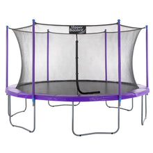Load image into Gallery viewer, Upper Bounce  16 FT Round Trampoline Set with Safety Enclosure System - Purple