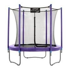 Load image into Gallery viewer, Upper Bounce  7.5 FT Round Trampoline Set with Safety Enclosure System - Purple