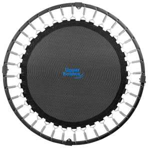 "Upper Bounce  36"" Mini Round Double-Fold Compact Rebounder Trampoline with Travel/Carry Bag"