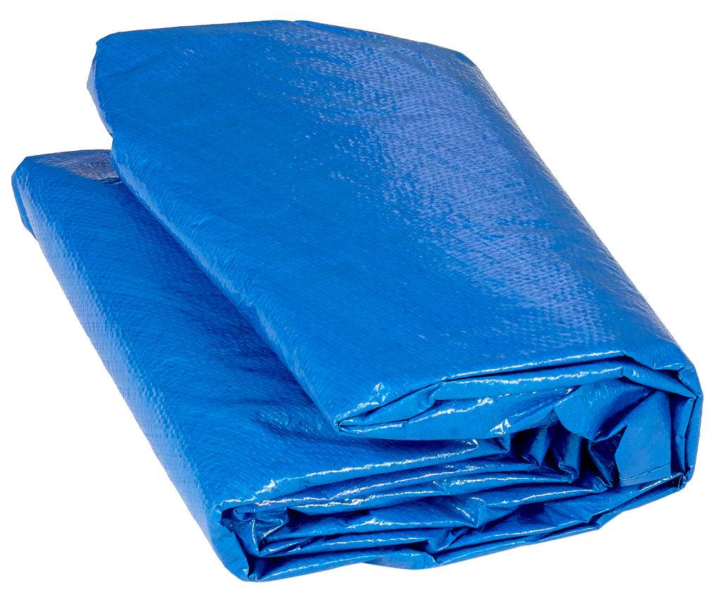 Upper Bounce  Weather-Resistant Protective Trampoline Cover, Fits 12 FT Round Frame - Blue