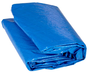 Upper Bounce  Weather-Resistant Protective Trampoline Cover, Fits 15 FT Round Frame - Blue