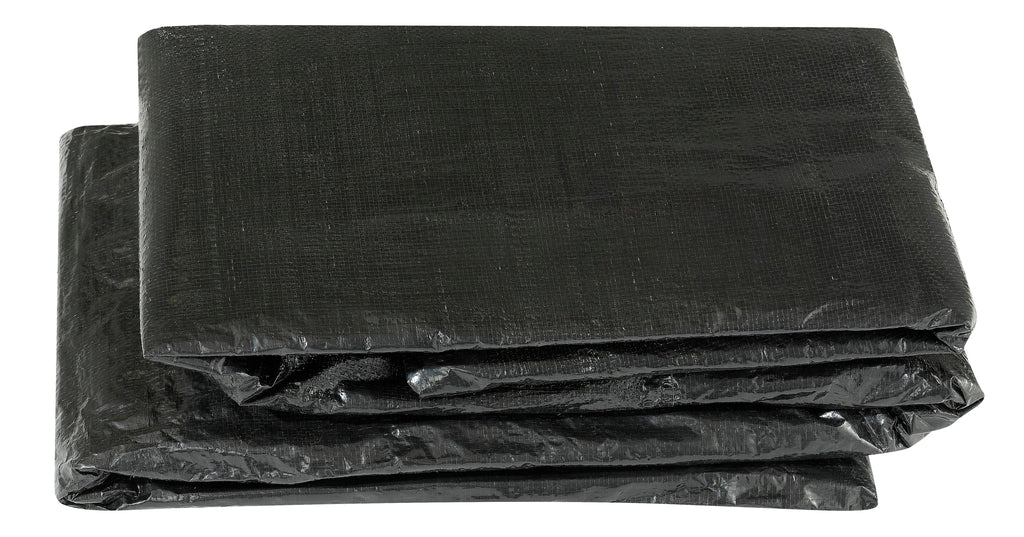 Upper Bounce  Weather-Resistant Protective Trampoline Cover, Fits 8 X 14 FT Rectangular Frame - Black