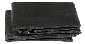 Upper Bounce  Weather-Resistant Protective Trampoline Cover, Fits 10 X 17 FT Rectangular Frame - Black