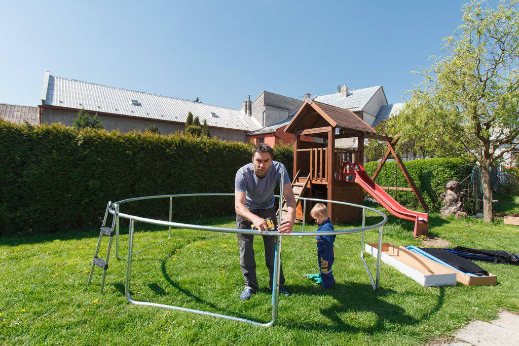 Trampoline Assembly & Installation Services